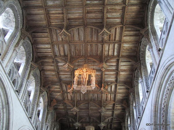 Roof of the nave, St. David Cathedral, Wales