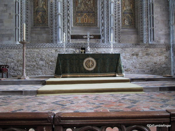 High Altar, St. David Cathedral, Wales
