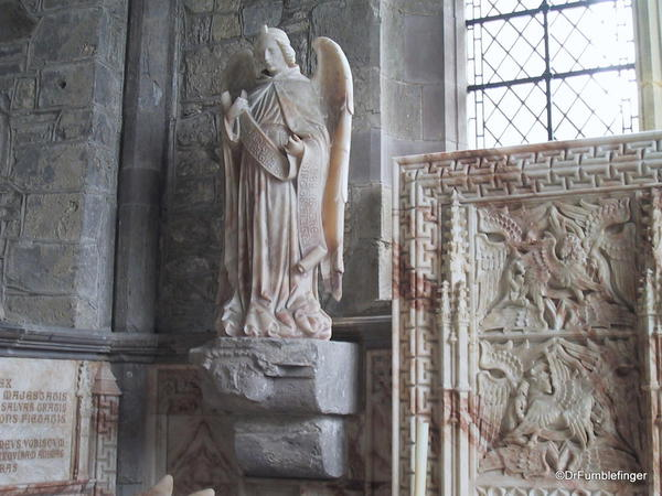 Beautiful statuary, St. David Cathedral, Wales