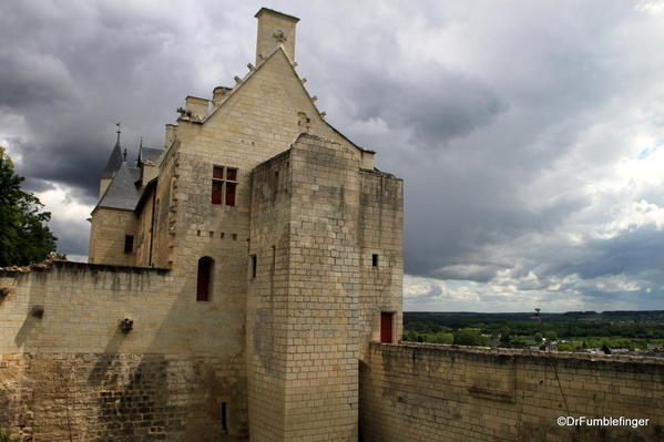 Royal Apartments, Château de Chinon