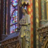 Statue of one of the apostles, Sainte-Chapelle