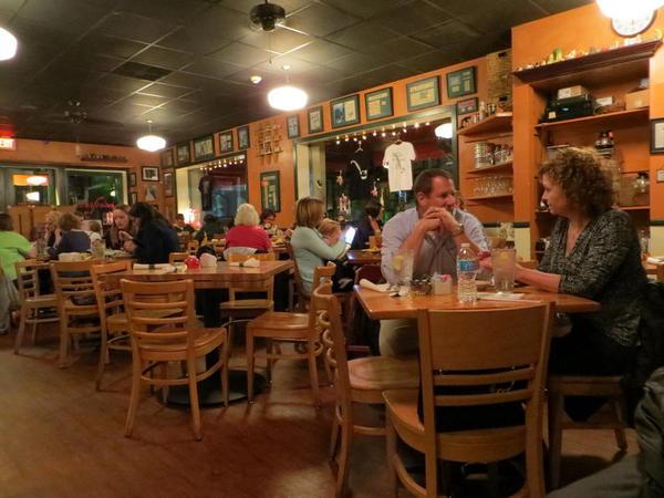 Jestine's Restaurant, Charleston, South Carolina.
