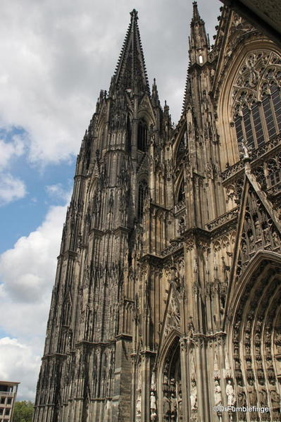 Exterior details, Cologne Cathedral