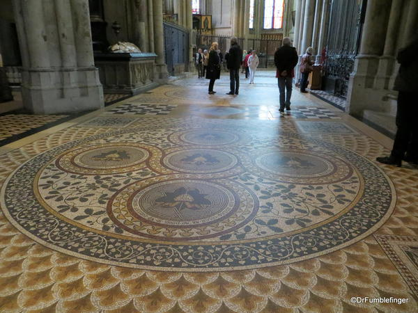 Floors of the North Cologne Cathedral