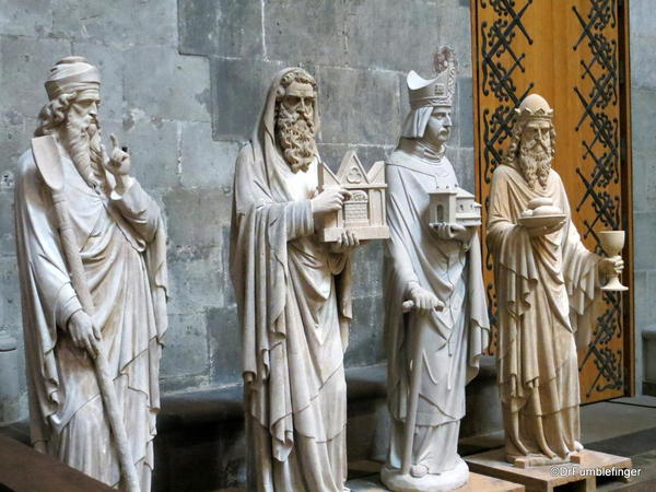 The Three Kings, I presume. Cologne Cathedral