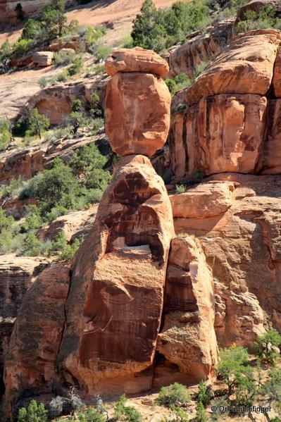 Colorado National Monument. Balanced Rock
