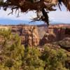 Colorado National Monument.  Visitor Center view