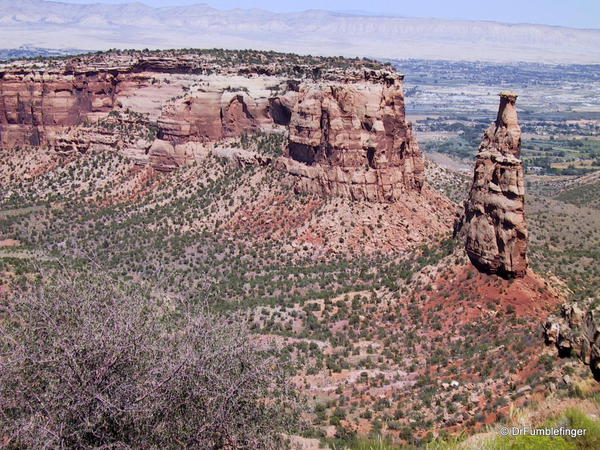 Colorado National Monument. Independence Monument