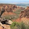 Colorado National Monument .  Grand View
