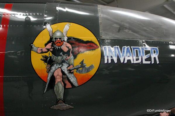 Palm Springs Air Museum. Douglas A-26 Invader aircraft