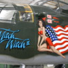 """Palm Springs Air Museum.  B-25 Mitchell Bomber """"Mitch the Witch II"""""""