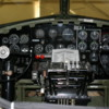 Palm Springs Air Museum.  Cockpit of the Flying Fortress, B17 bomber.
