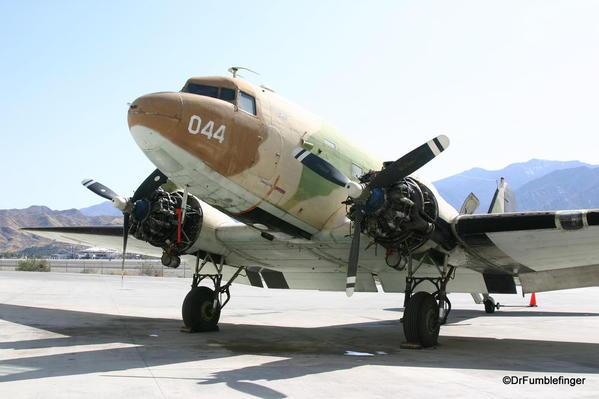 Palm Springs Air Museum. Douglas DC3 aircraft