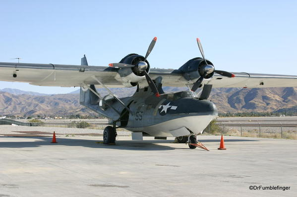 Palm Springs Air Museum. Consolidated PBY+ Catalina aircraft