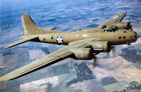 B-17 Flying Fortress. Courtesy of the USAF