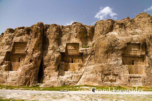 Naqsh-e Rostam – The four Achaemenid Tombs