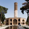With 34 meters the highest Wind tower, Dolatabad-Garden, Yazd