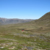 Expect, big, open country and deceptively large valleys when hiking Greenland!