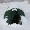 Spring camping in Greenland