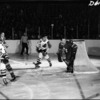Toronto Maple Leafs vs the Chicago Black Hawks, Maple Leaf Gardens.  Courtesy City of Toronto