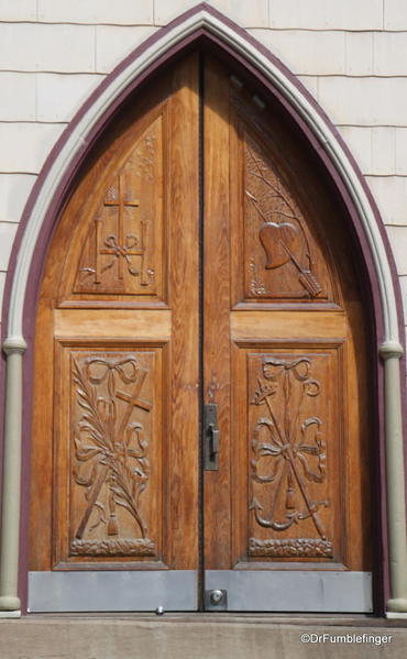 Entry into St. Patrick's Catholic Church, Silver Plume