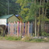 Home in Silver Plume, with old ski fence