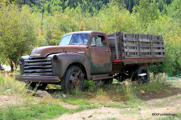 Old truck, Silver Plume