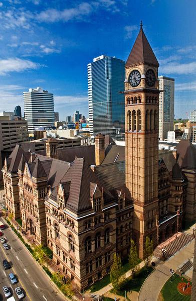 Old City Hall. Courtesy Richard Kang -- Wikimedia