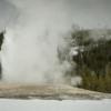 Old Faithful erupting, Yellowstone National Park
