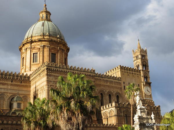 Palermo Cathedral, an example of Arab-Norman architecture