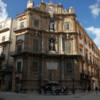 One of the Four Corners (Quattro Canti), the heart of Old Palermo