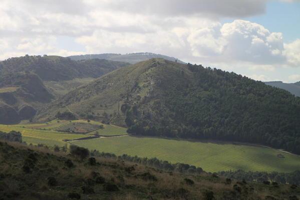 Hills around Segesta, Northwestern Sicily