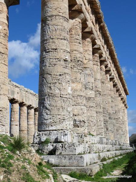 Details of the Greek Temple in Segesta