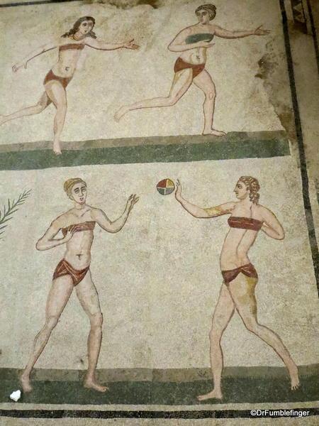 Roman mosaics, Villa Del Casale, Sicily