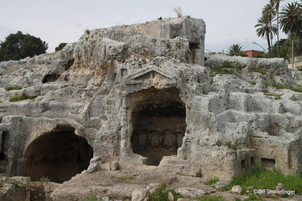 Ancient catacombs, Syracuse