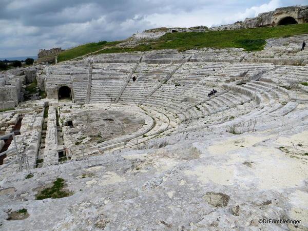 Greek amphitheater, Syracuse