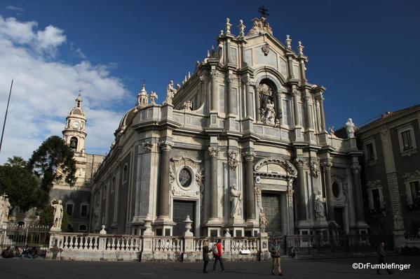 Duomo in Catania, part of the UNESCO World Heritage Square
