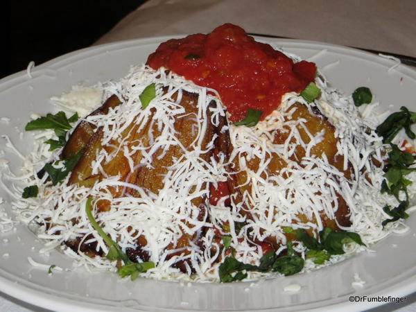 Pasta alla Norma, a Catanian dish named in honor of its most famous citizen (Bellini's) opera, Norma