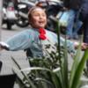 Child in Carnival costume, Catania