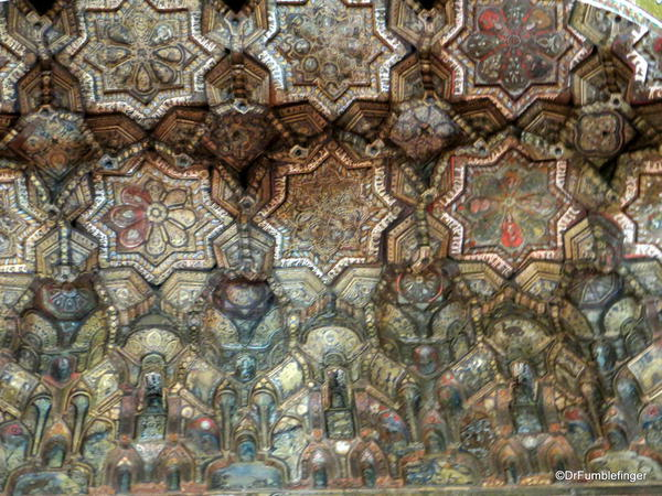 Details of the ceiling, Cappella Palantina, Palermo, Sicily