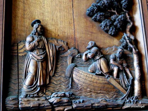 Cappella Palantina, Palermo, Sicily. Entry door details