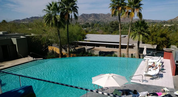 Sanctuary on Camelback Mountain is surrounded by mountain beauty