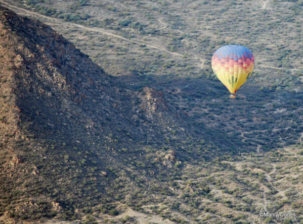 Hot Air Expeditions: Soaring over the beautiful Arizona desert