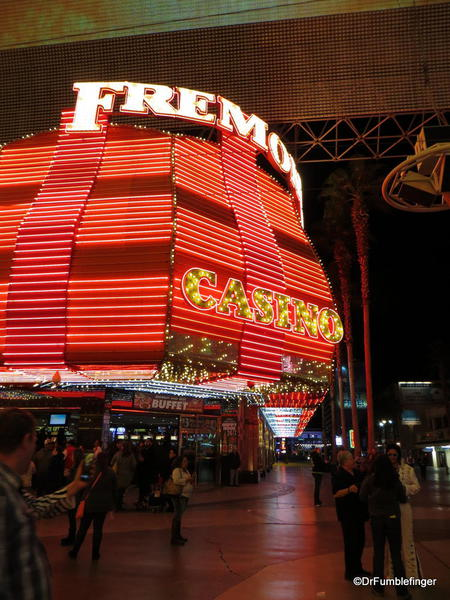 Downtown Vegas -- the Freemont