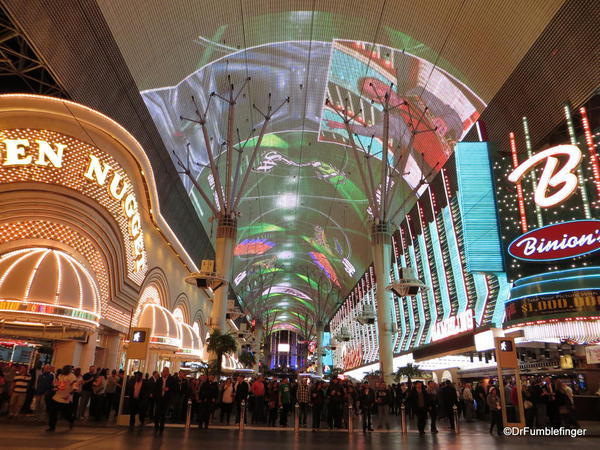 Downtown Vegas -- The Freemont Street Experience