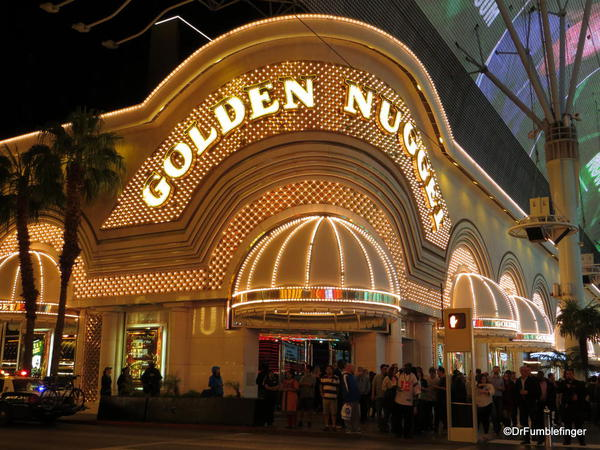 Downtown Vegas -- the Golden Nugget