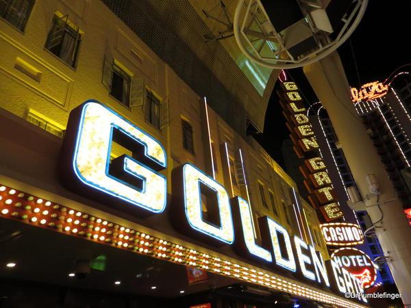 Downtown Vegas -- Golden Gate