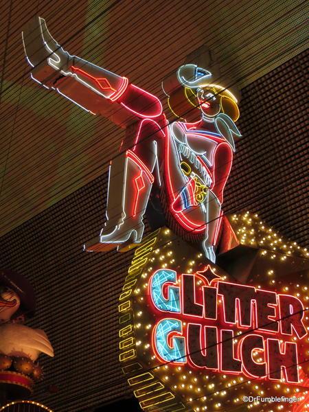 Downtown Vegas -- Glitter Gultch