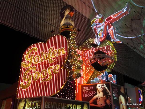 Downtown Vegas -- Glitter Gultch & Golden Goose