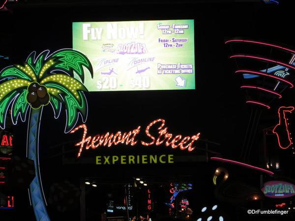 Downtown Vegas -- Freemont Street Experience